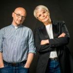 Grzegorz Kramer i Karolina Korwin-Piotrowska, sesja zdjeciowa, ksiazka, wydawnictwo WAM